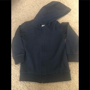Navy blue hoodie. New w no tags